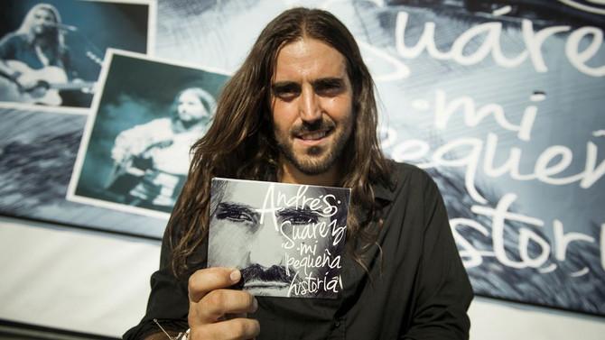 Andrés Suárez presentará su nuevo disco en Argentina