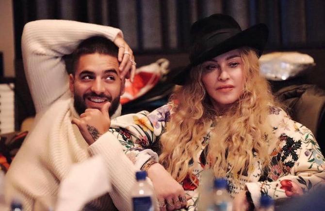 Maluma y Madonna preparan una canción juntos