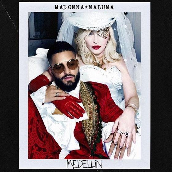Madonna y Maluma juntos en 'Medellín'