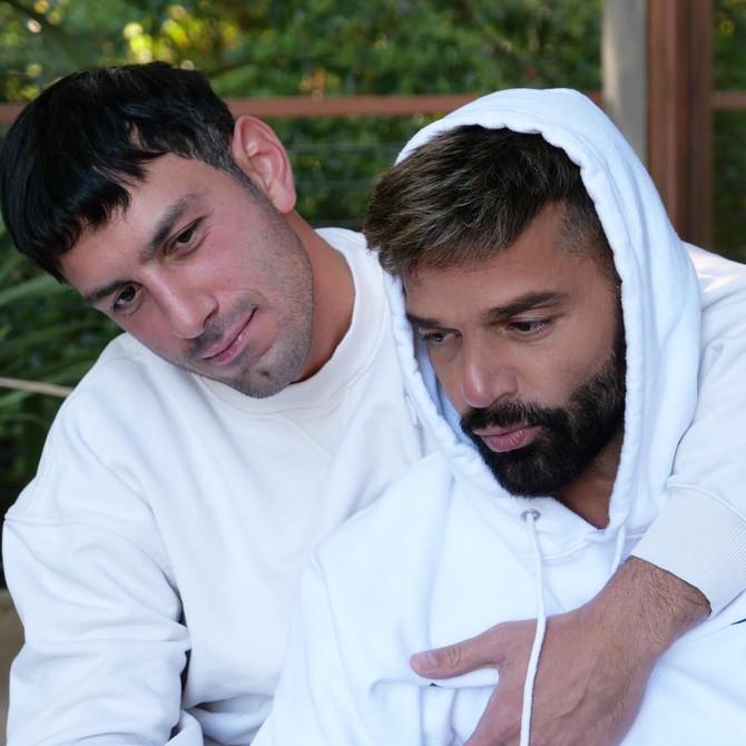 Mirá la postal familiar que compartió Ricky Martin junto a Jwan Yosef y sus hijos