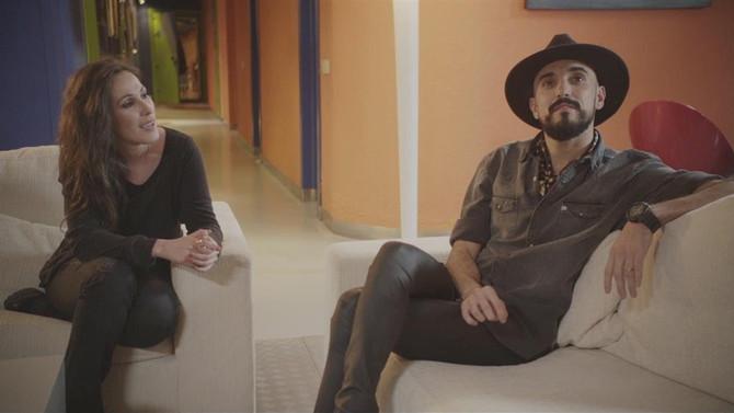Abel Pintos estrenó su nuevo vídeo con Malú