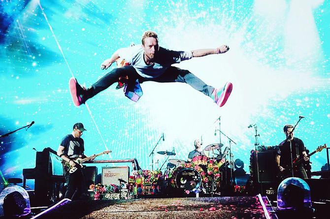 Coldplay lanzó su nuevo EP