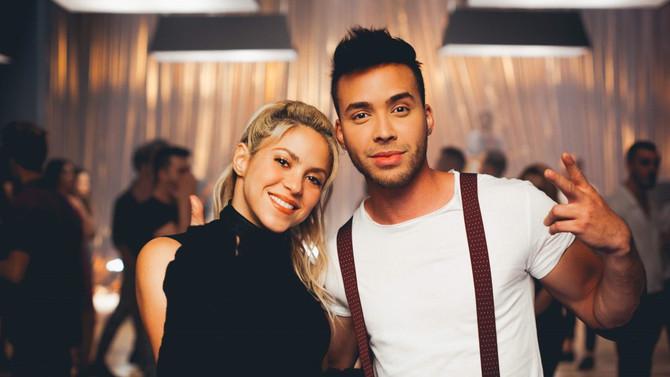 """Prince Royce y Shakira bailan juntos en """"Deja Vu"""""""