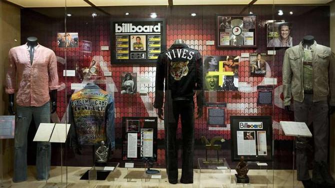 Carlos vives tiene una vitrina en el museo de los Grammys
