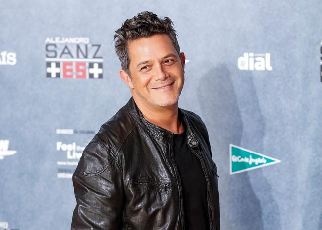 """Alejandro Sanz es la """"Personalidad del año"""" para los Latin Grammys"""