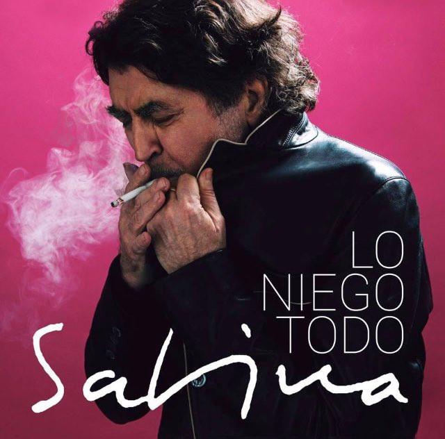 La portada del nuevo disco de Sabina