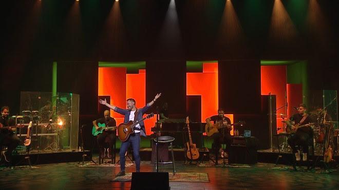 El emotivo concierto de Luciano Pereyra