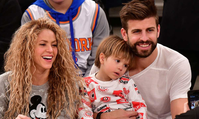 Shakira comparte y presume foto tomada por Sasha
