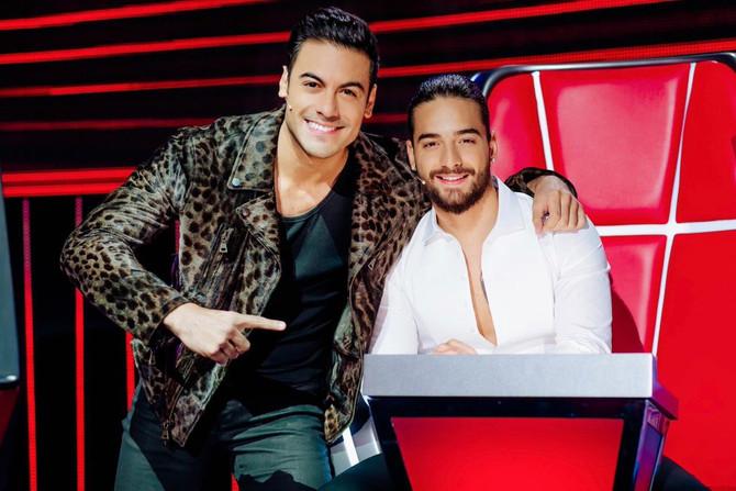 Carlos Rivera y Maluma juntos en un nuevo sencillo.