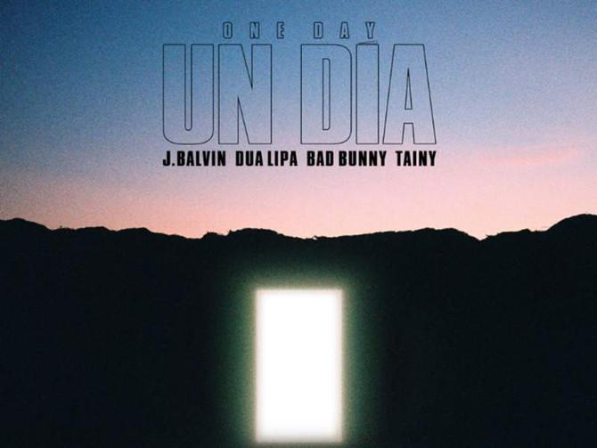 J Balvin junto a Dua Lipa, Bad Bunny y Tainy en 'Un Día (One Day)'