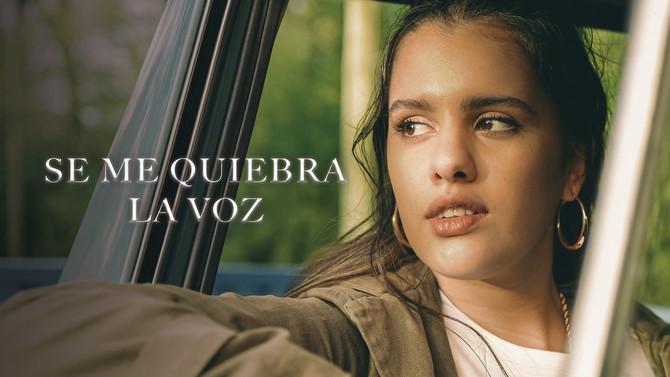 """Camilú presenta su nuevo vídeo """"Se me quiebra la voz"""""""