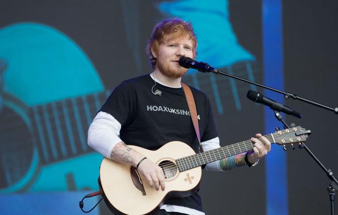 Ed Sheeran anuncia un retiro de dos años para pasar más tiempo con su mujer