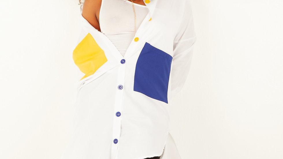Kristina Hobo Shirt Dress