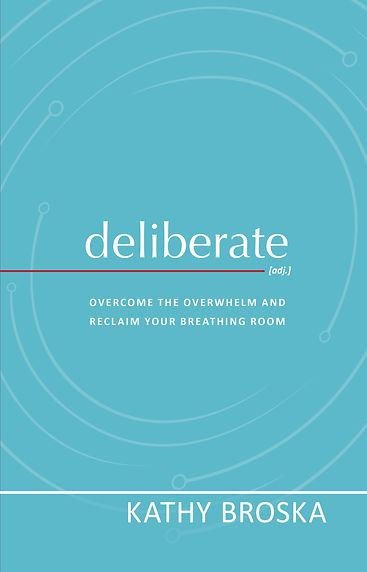 deliberate book cover