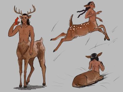 Deer Centaurs