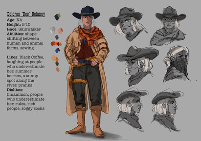 Dee Character Sheet