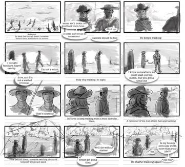 Storyboard/comic