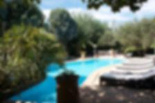 Piscine hôtel à Grimaud Athénopolis