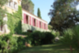 Hotel Grimaud - Façade Provençale - Athénopolis