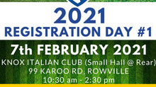 2021 Knox United Registration Days