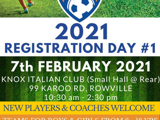 2021 Knox United Registration Days