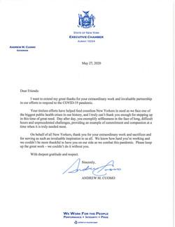 Dear Friends - Food Bank Letter