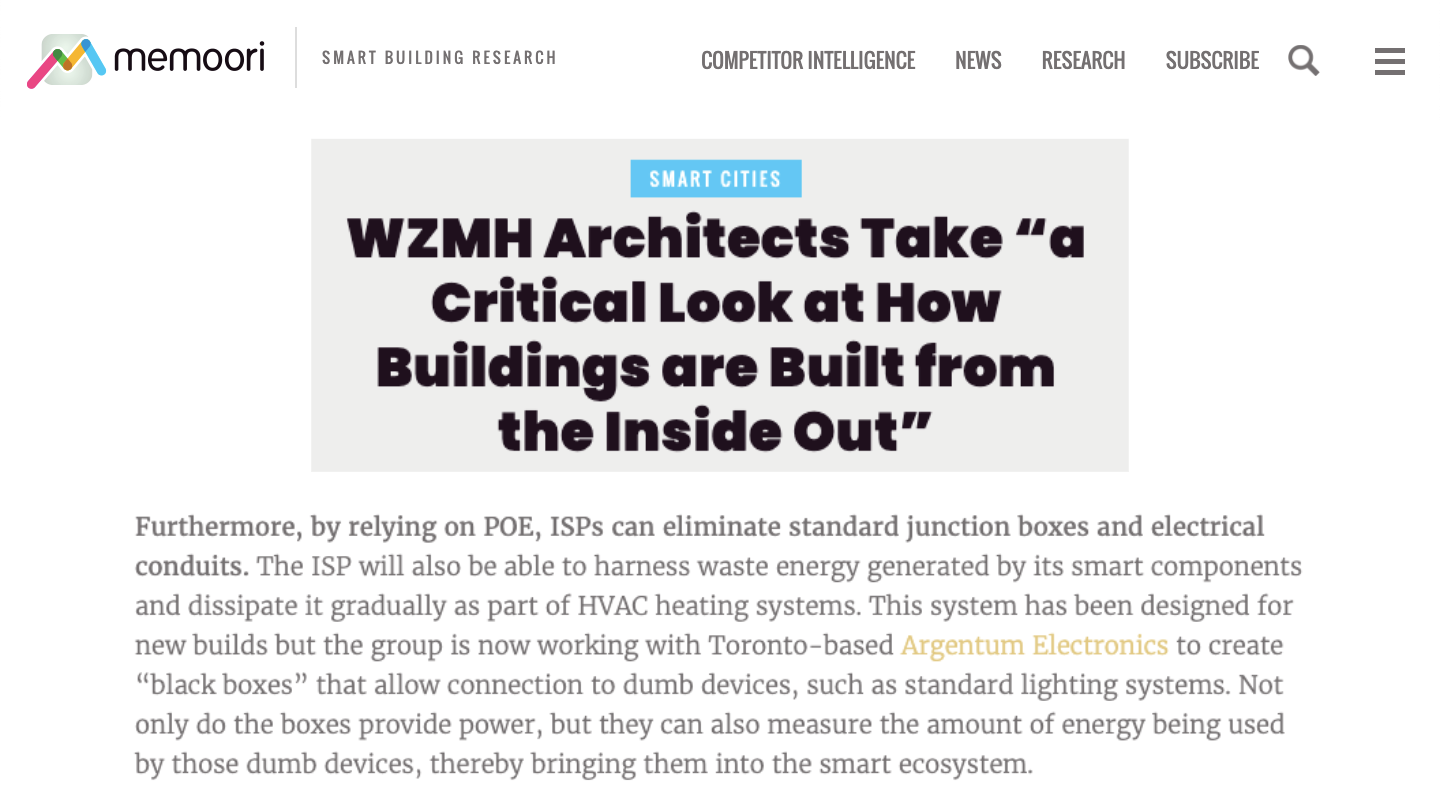 "WZMH Architects Take ""a Critical Look at How Buildings are Built from the Inside Out"""