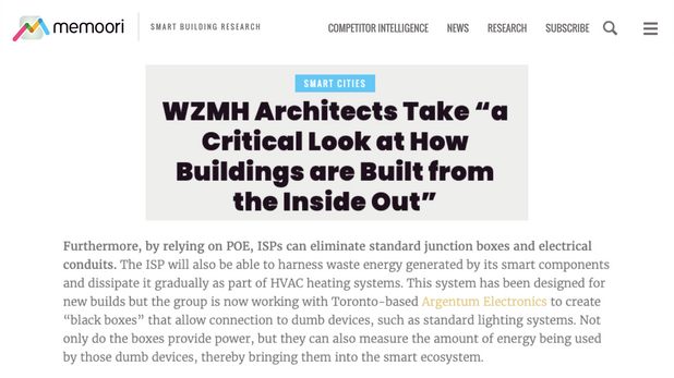 """WZMH Architects Take """"a Critical Look at How Buildings are Built from the Inside Out"""""""