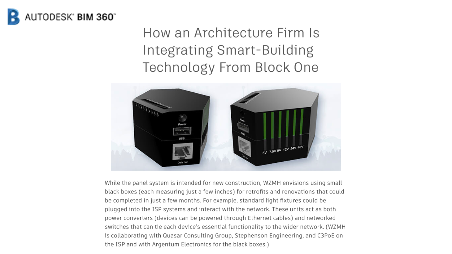 How an Architecture Firm is Integrating Smart-Building Technology From Block One