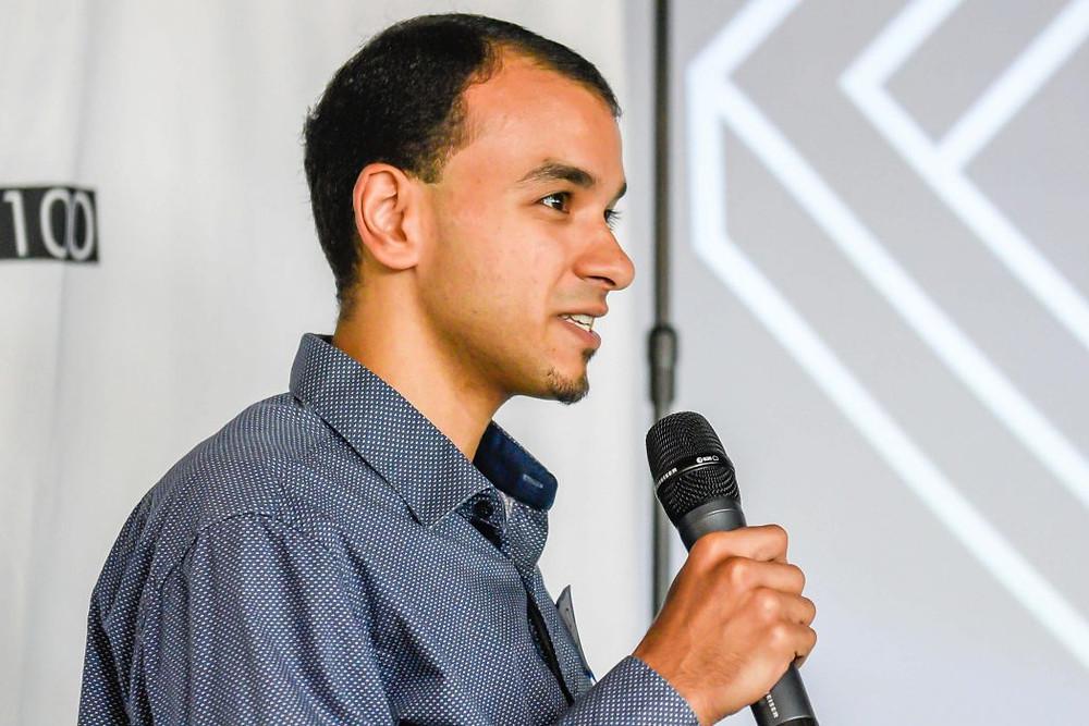 Bolis Ibrahim speaking