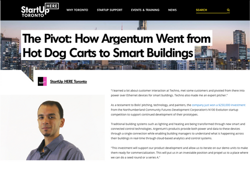 The Pivot: How Argentum Went from Hot Dog Carts to Smart Buildings