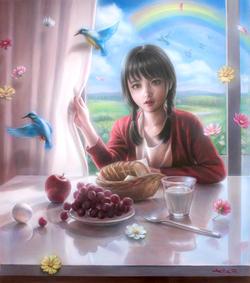 「不思議な朝に- in the wonderful morning- 」🔴