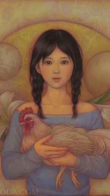 『既存のイコノグラフィア(鶏)』
