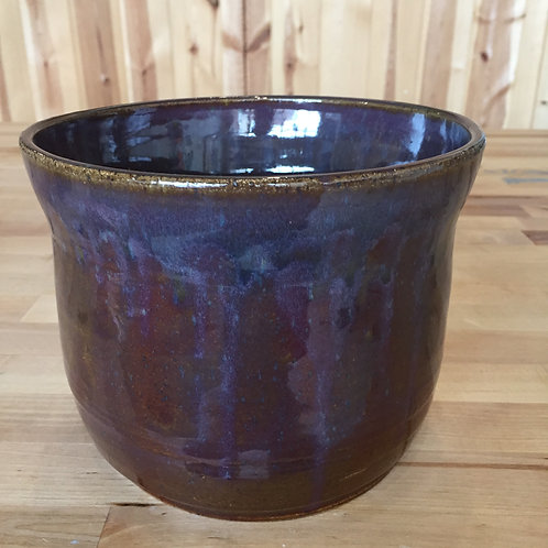 Purple Stoneware Crock