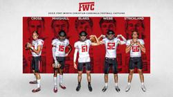 High School Sports Graphics Football Captains