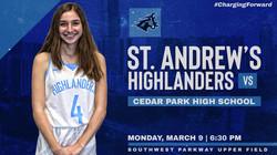 High School Sports Graphics St Andrews Highlanders