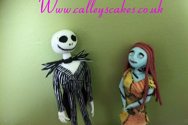 nightmare before xmas cake topper