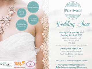 Calley's cakes will be at pure events wedding show 15th January at Worthing assembly hall