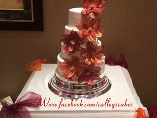 Calley's cakes will be at a wedding fair in Horsham 8th May