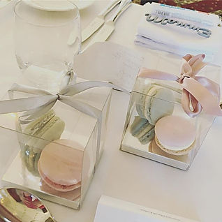 I loved making these macarons as wedding