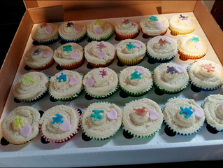 cupcakes donated to Sussex Autism Support