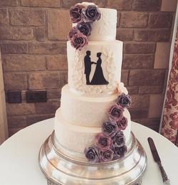 silhouette wedding cake South Lodge