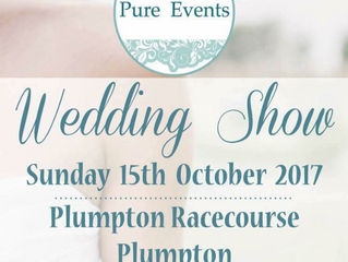 Pure events wedding fair sponsored by Calley's cakes 15th October 2017 at Plumpton racecourse
