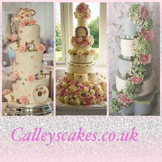 Luxury wedding cakes in Sussex