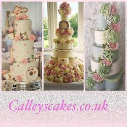 Luxury wedding cakes in Sussex
