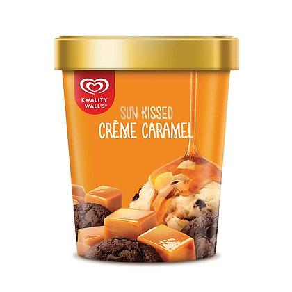 Kwality Walls Ice Cream,  Creme Caramel, 700 ml Cup