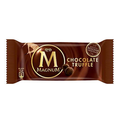 Magnum Chocolate Truffle Ice Cream , 80 ml Pack
