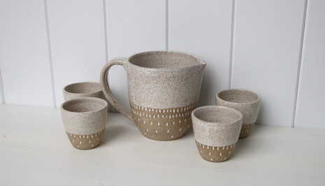 pitcher and tumber set