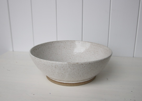 large white serving bowl