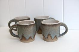 zig zag ombre mugs